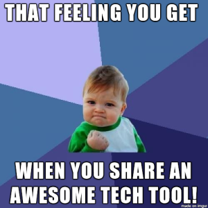 success-kid-new-tech-tool