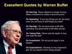 warren-buffett-earning-spending-savings-taking-risk-investment-expectations